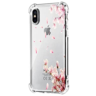 coque iphone xs max transparente motif