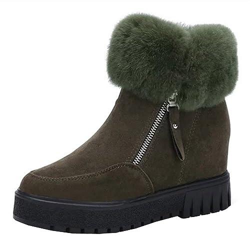 Kukul BOT-258 Botines Para Mujer Botas Planos 2017 Invierno Zapatos (EU:37