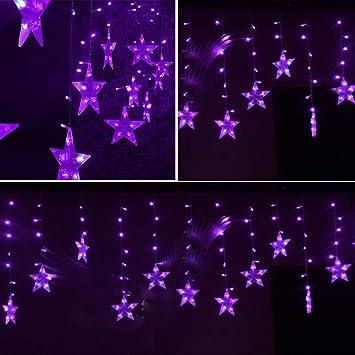 Amazon.com: Wffo LED Estrellas de Navidad para colgar ...