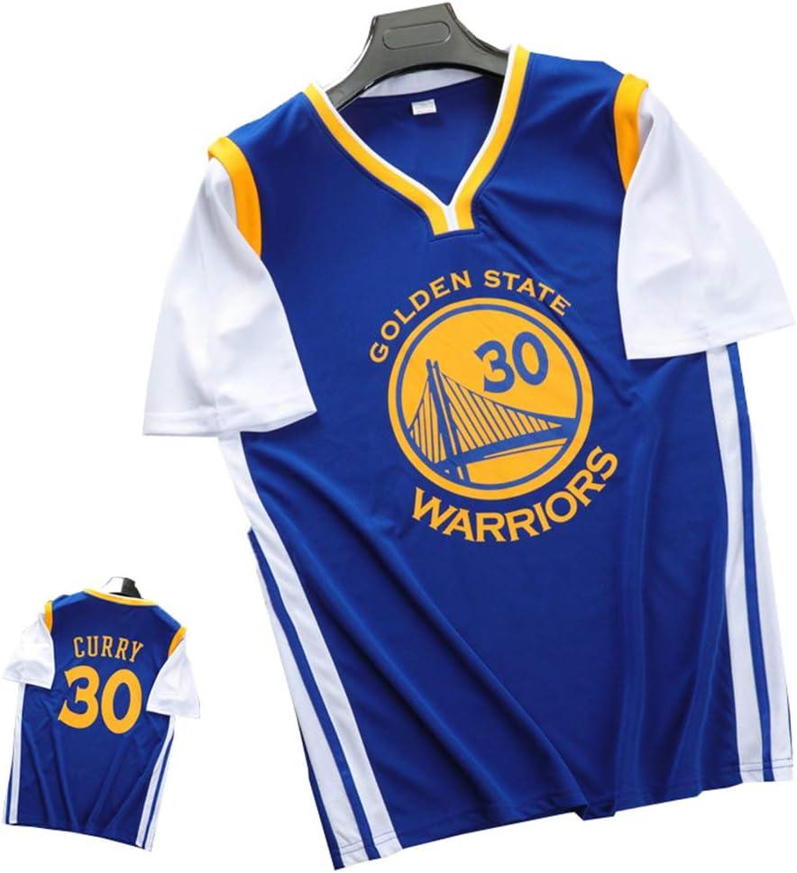 FILWS Camiseta De Baloncesto Stephen Curry Fake Uniforme De Baloncesto De Dos Piezas Camiseta De Manga Corta Para Hombres Y Mujeres Camiseta Transpirable De Secado Rápido Ventiladores De Tela Camiseta: Amazon.es: Deportes