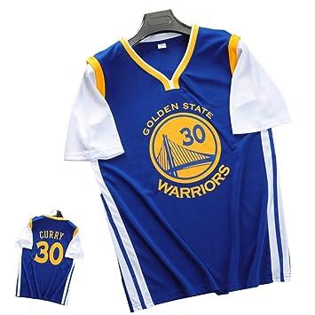 FILWS Camiseta De Baloncesto Stephen Curry Fake Uniforme De ...
