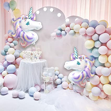 Amazon.com: Unicorn - Kit de decoración de cumpleaños para ...