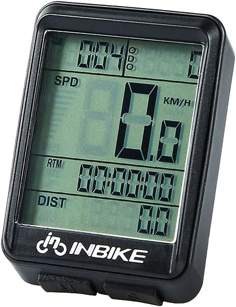 VORCOOL Computadora inalámbrica de la bici del odómetro de la bici ...