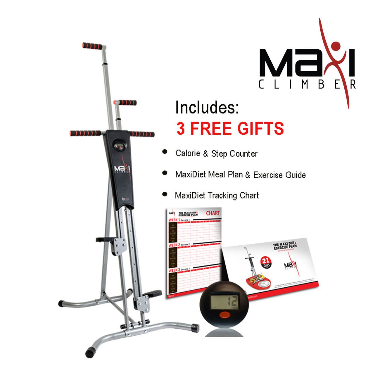 maxi climber 3 free gifts