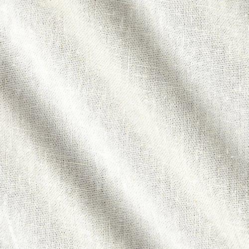 Ben Textiles Rayon Linen Blend Ivory, Ivory