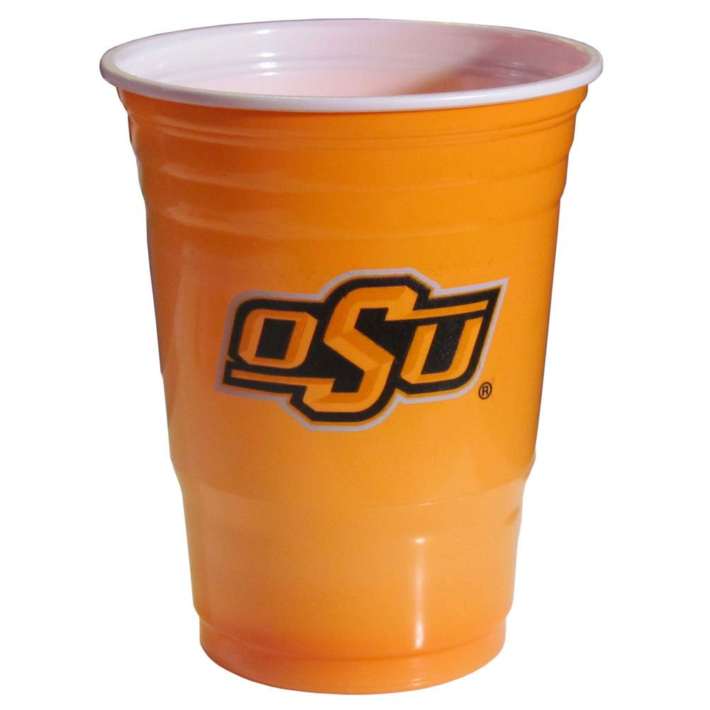 Tervis 1219906 Oklahoma State Cowboys College Pride Tumbler with Wrap and Orange Lid 24oz Clear