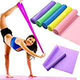 VIPMOON Professional Latex Elastic Exercise Bands for Workout Physical Therapy, E-Guide, Pilates, Yoga, Rehab, Improve…