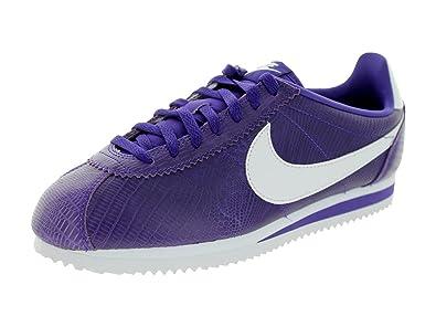 Nike Women\u0027s Classic Cortez Leather Sneakers