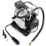 Car Air Pump,Teetox 12V DC Portable Air Compressor Pump 100 PSI Tire Inflator with Cigarette Plug for Cars, Bicycles and Balls