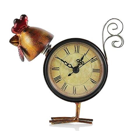 SMNHSRXH Reloj Vintage Reloj Retro Chick Hecho a Mano Mute Reloj ...