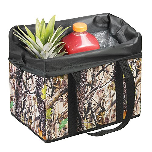 mdesign-swiss-tech-woodland-camouflage-portable-insulated-cooler-storage-organizer-for-cars-trucks-s