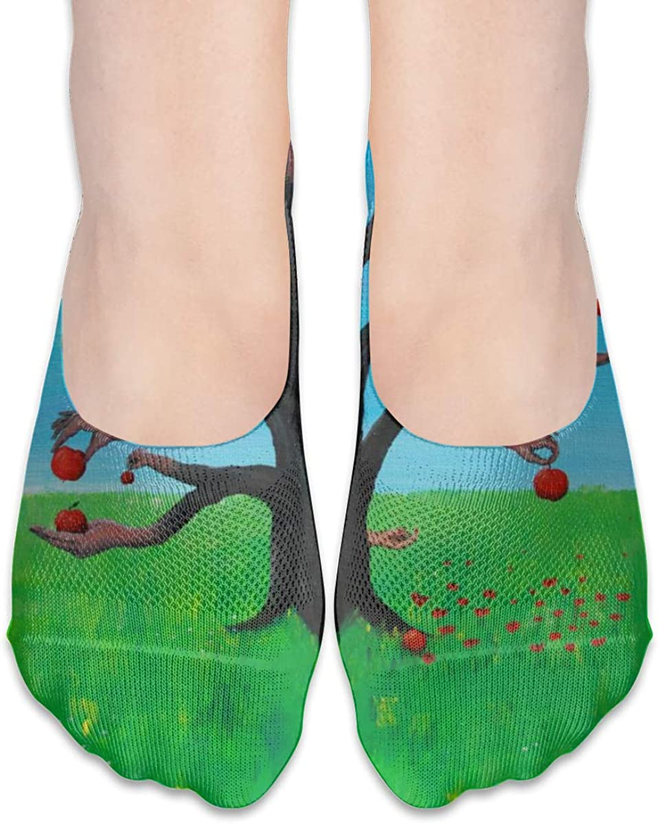 Begonia Leaf Socks For Women Men Polyester Casual Crew Tube Short Socks For Outdoor & Home