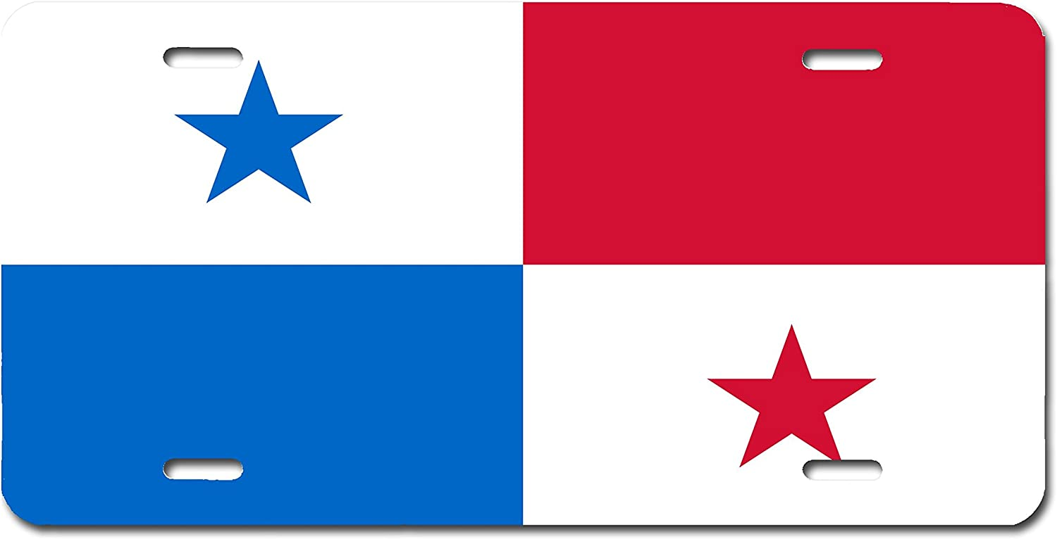 Honduras Flag License Plate Tag Vanity Front Aluminum 6 Inches By 12 Inches