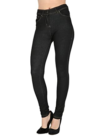 a52c3fb01906d Fashion Instyle Skinny Womens Jeans Stretchy Jeggings Ladies New Fit  Coloured Trousers: Amazon.co.uk: Clothing