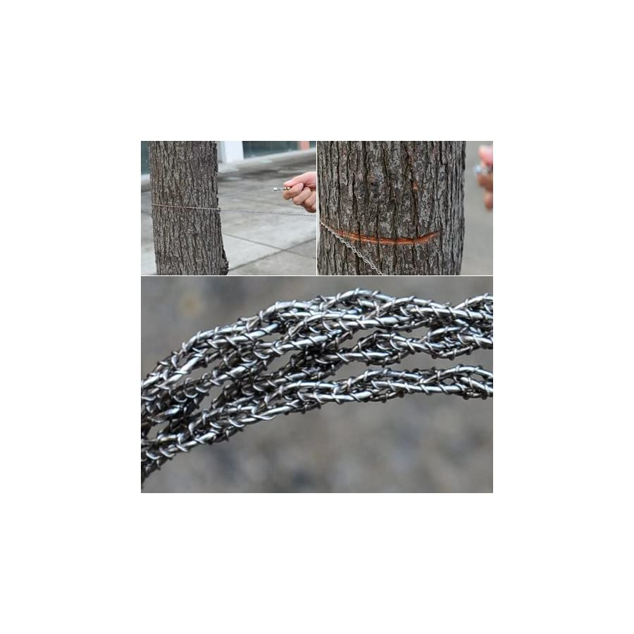 Topro Steel Wire Saw Scroll Saw Wilderness Emergency Survival Tool