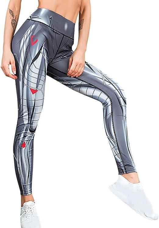 BNisBM Women Plus Size Snake Print Hole Leggings Elastic Fitness Sports Yoga Athletic Pants