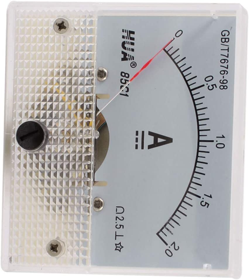 Aexit Genauigkeit Dc 0 2a Klasse 2 5 Analog Panel Meter Amperemeter 85c1 Baumarkt