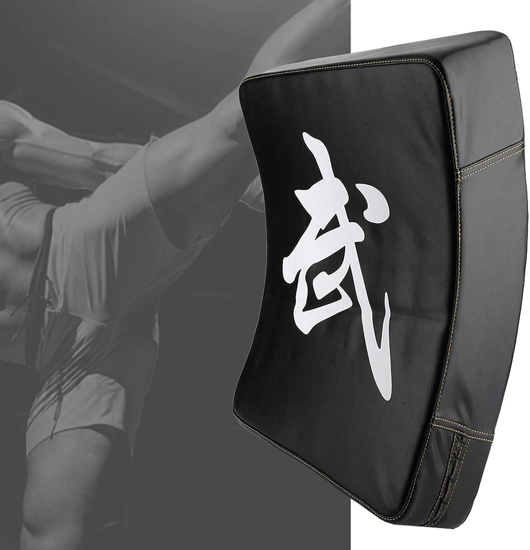 Almohadilla de destino adecuada, Almohadilla de esponja de absorción de golpes 60 * 40 * 12 cm Taekwondo Kick Pad Hecho de PU & Sponge (Negro)