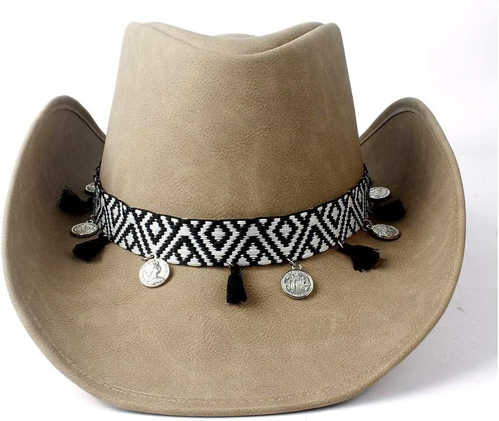 CONGCASE Hats Women Leather...