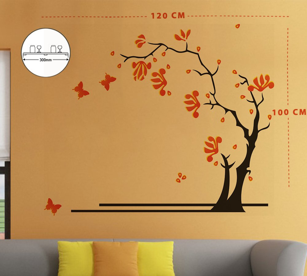 Buy Artesia Tree Wall Sticker For Your Bedroom Drawing Room Living Room And Kitchen Online At Low Prices In India Amazon In