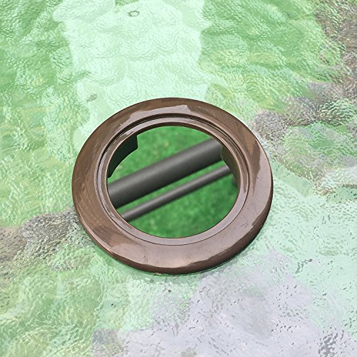 Do4U Patio Garden Umbrella Table Hole Ring Plug Cover And