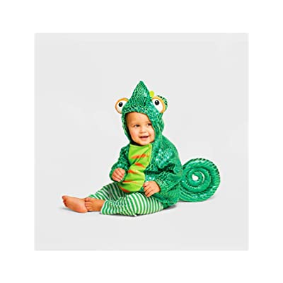 Baby Plush Chameleon Halloween Costume Vest (6-12 Months): Clothing