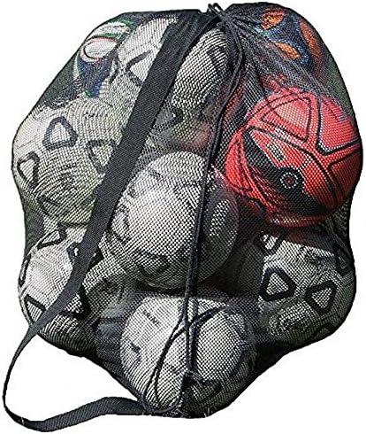 大容量 ボールバッグ 収納袋 バスケットボール サッカー ボールケース メッシュ 収納バッグ 10個 防水 厚手 肩掛け 大きいサイズ 学校 部活 アウトドア スポーツ 通気性 耐久性 ラグビー 多機能 多用途 メンズ レディース おしゃれ