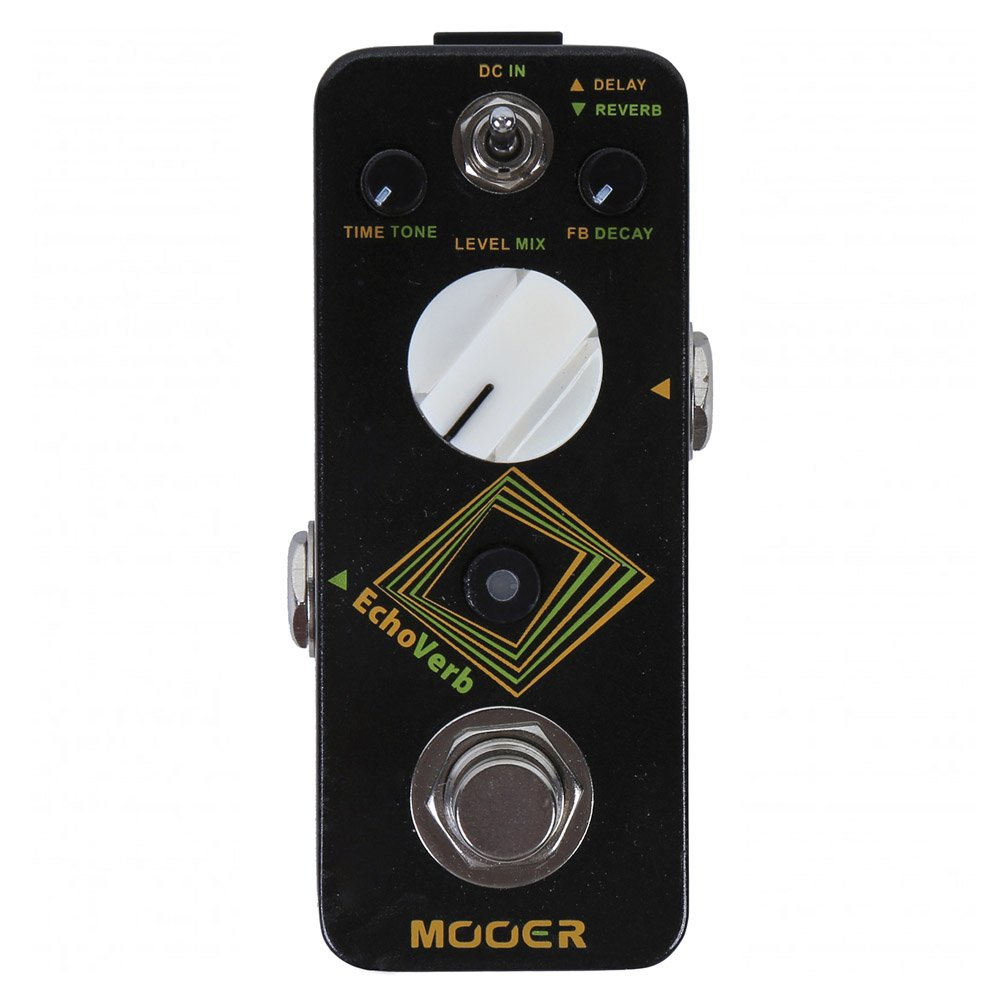 Mooer Audio EchoVerb Digital Delay & Reverb DEMO