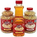 Orville Redenbacher's Bundle: White & Original Popcorn Kernels 30 oz Each, Butter Popcorn Oil, 16 oz