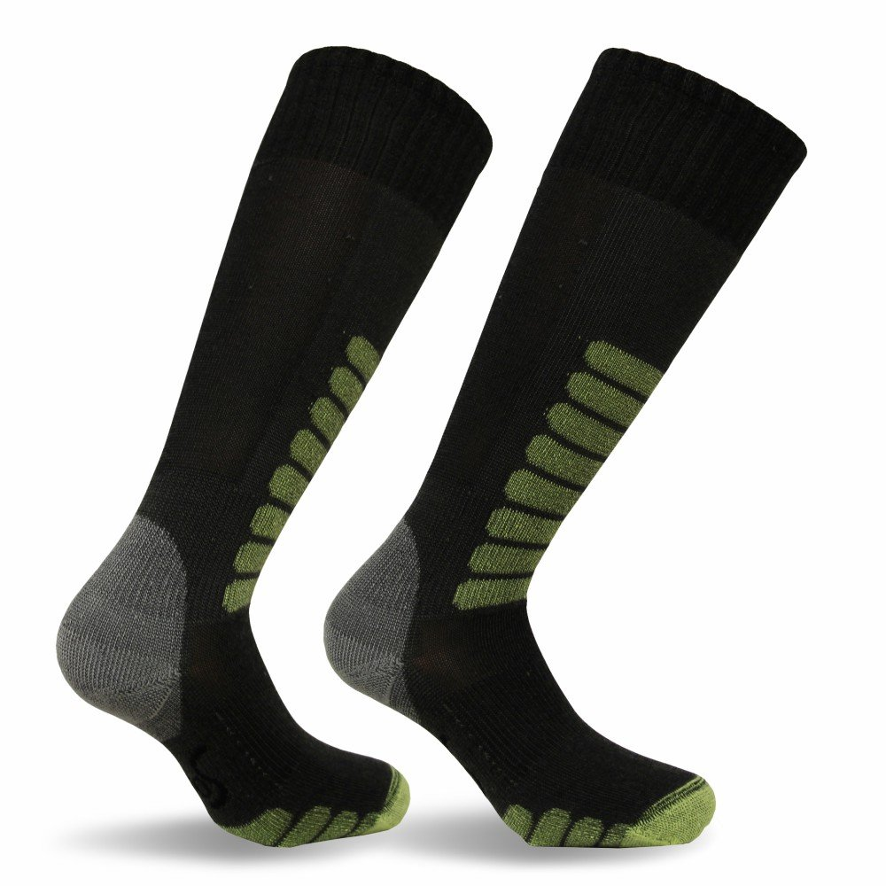 Eurosocks Ski Supreme Socks, Charcoal, Sock Size:10-13/Shoe Size: 6-12 by Eurosocks