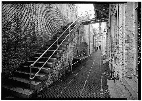 Photo: Alcatraz Island,San Francisco Bay,San Francisco,California,CA,HABS,San - Shopping Fran Map San