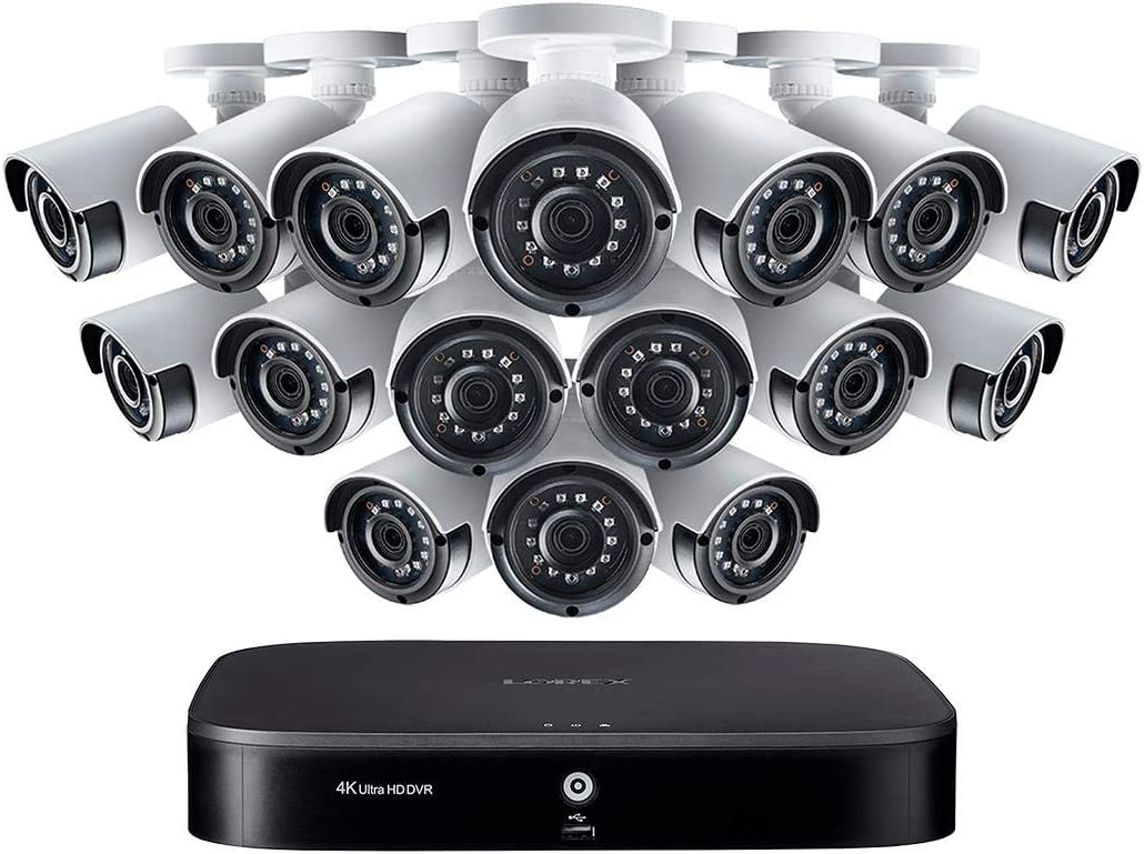 Lorex 16 Channel Security Camera System with (16) 1080p Outdoor Cameras, 130ft Night Vision, 3TB Hard Drive