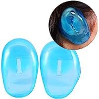 Kappers oorbescherming, 2 stuks blauwe oorbeschermers, anti-vlekken kunststofbescherming, beschermt oorbeschermers tegen…