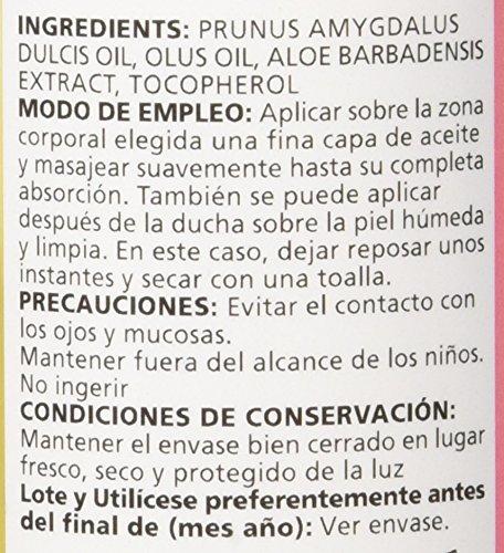 Sanon Cosmética Natural, Aceite de Almendras con Aloe Vera, 250 ml: Amazon.es: Salud y cuidado personal
