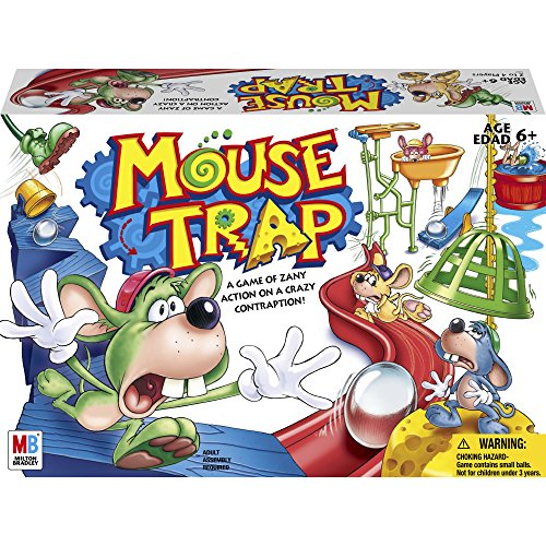 Hasbro Gaming Mouse Trap Board...