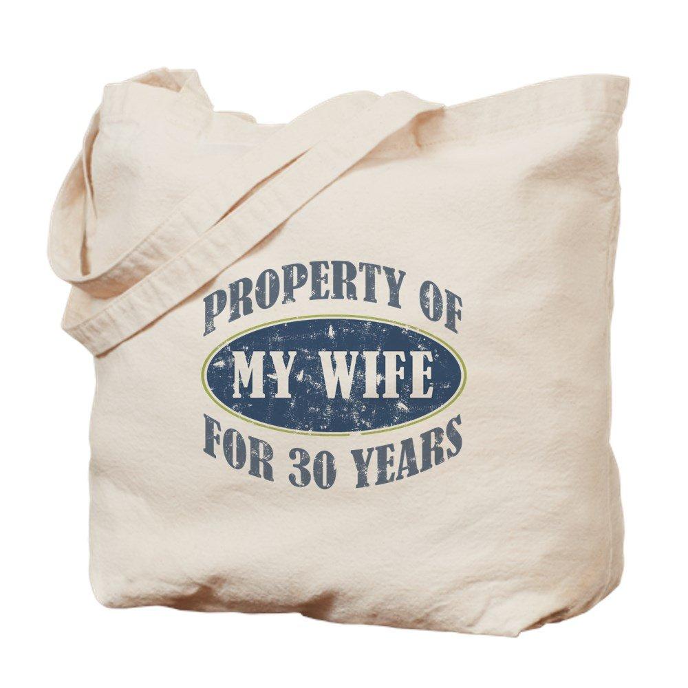 CafePress – Funny 30th Anniversary – ナチュラルキャンバストートバッグ、布ショッピングバッグ B01JOODMJS