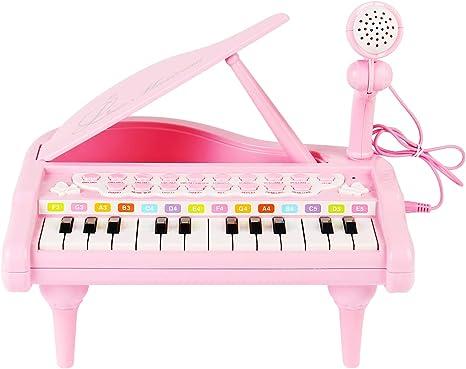 Amazon.com: Conomus Piano teclado de juguete para niños, 1 2 ...
