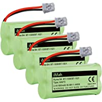iMah Ryme B4 BT1008 BT1021 2,4 V 600 mAh 1,44 vatios H Ni-MH batería del teléfono inalámbrico