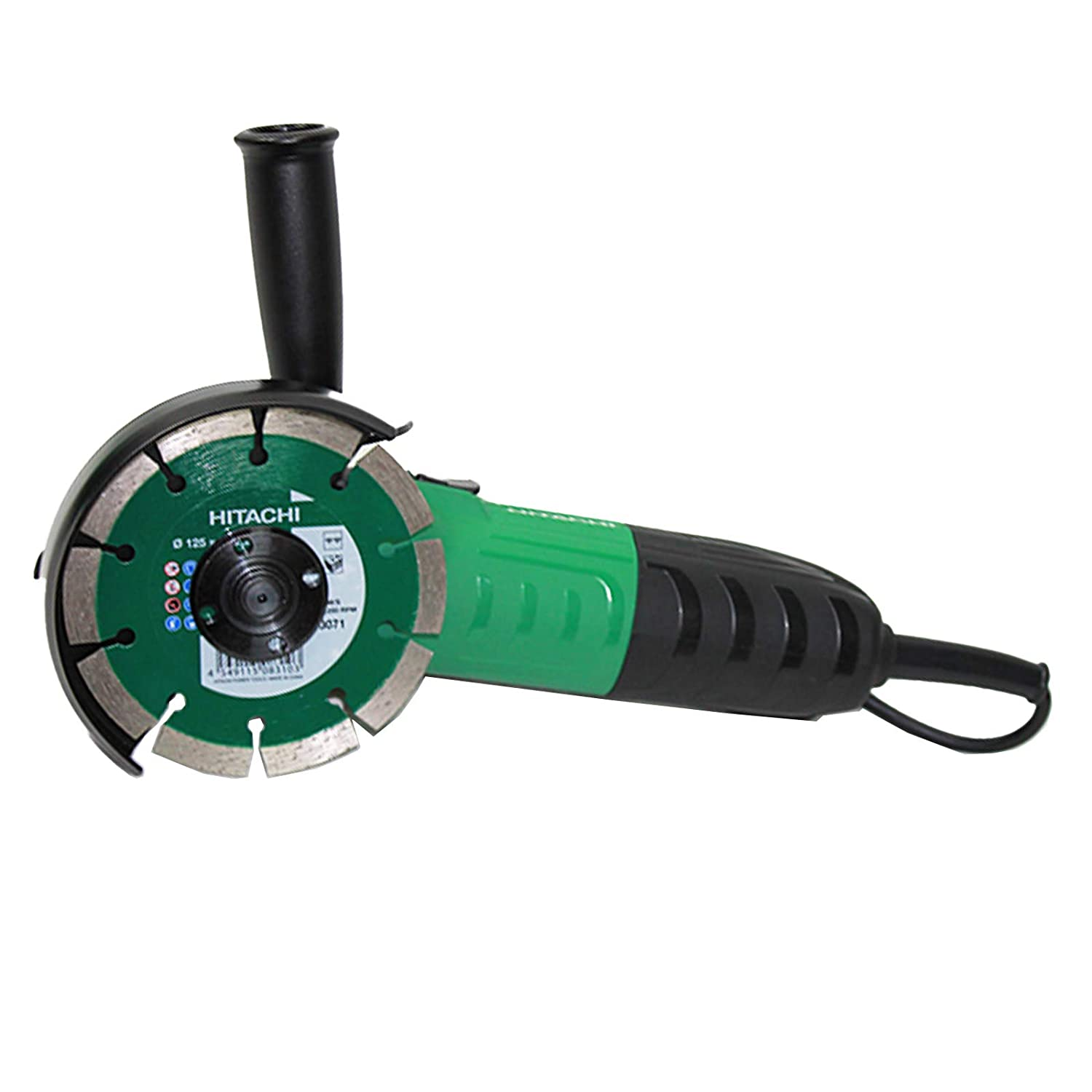 Hitachi G13STAYL 12000 RPM, Negro, Verde, M14, 88 dB, 7,9 m//s/², Corriente alterna Amoladora angular