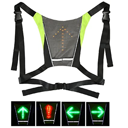 Helpful Lixada Reflective Vest Backpack With Led Turn Signal Light Remote Control Outdoor Sport Safety Bag Gear Usb Rechargeable Bicycle Bags & Panniers