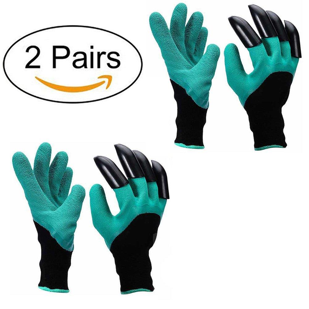 Guantes de jardí n - A prueba de espinas guantes jardineria Para cavar y rosas Cactus Planting Nursery, Guantes de jardinerí am Con los dedos de la garra (Claws en la mano derecha) Excerando