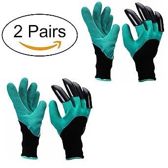 Guantes de jardín - A prueba de espinas guantes jardineria Para cavar y rosas Cactus Planting
