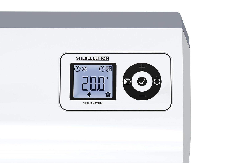 lernf/ähige regulaci/ón 236653 pantalla LC 2/kW /Calefactor de pared CK 20/Trend Stiebel Eltron/
