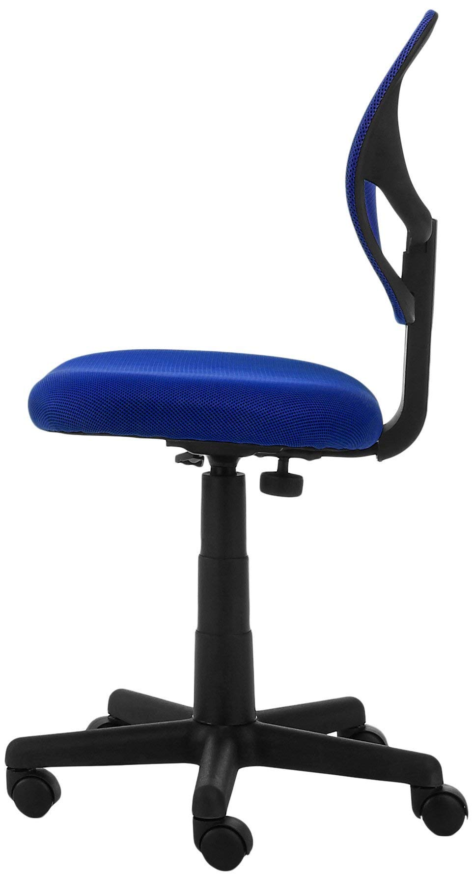 AmazonBasics Low-Back Computer Task Office Desk Chair with Swivel Casters - Blue by AmazonBasics (Image #6)