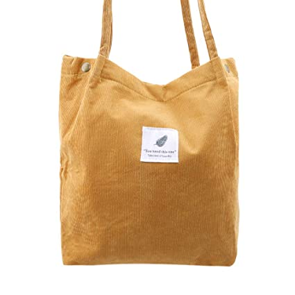 901b5ef2d291 Amazon.com: Yunzee Canvas Women Bag Button Lock Literary College ...