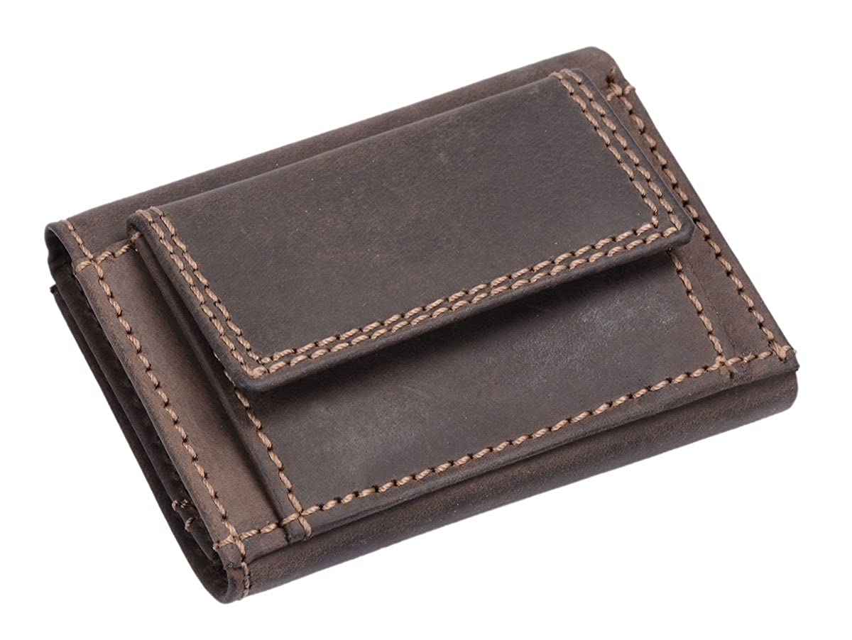Avanco Womens Leather Mini-Wallet 3.9 x 3 inch