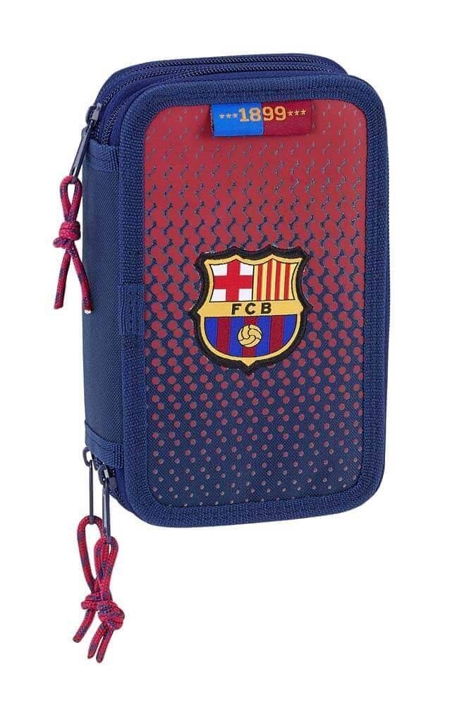 Federmappe für die Schule F.C. Barcelona Corporativa - Offiziell - 36 teilig gefüllt FC Barcelona 411825857