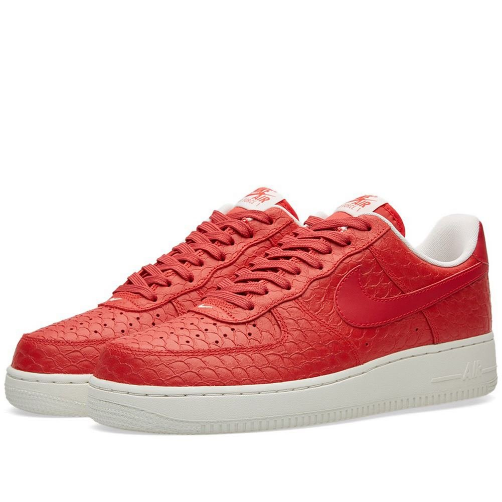 Galleon - Nike Men s Air Force 1 LV8 Action Red Summit White Action Red  Leather Basketball Shoes 10 M US 4ac9dcf22