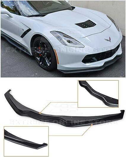 Z06 Z07 Stage 2 Primer Black Rear Trunk Lid Wing Spoiler For 14 19 Corvette C7