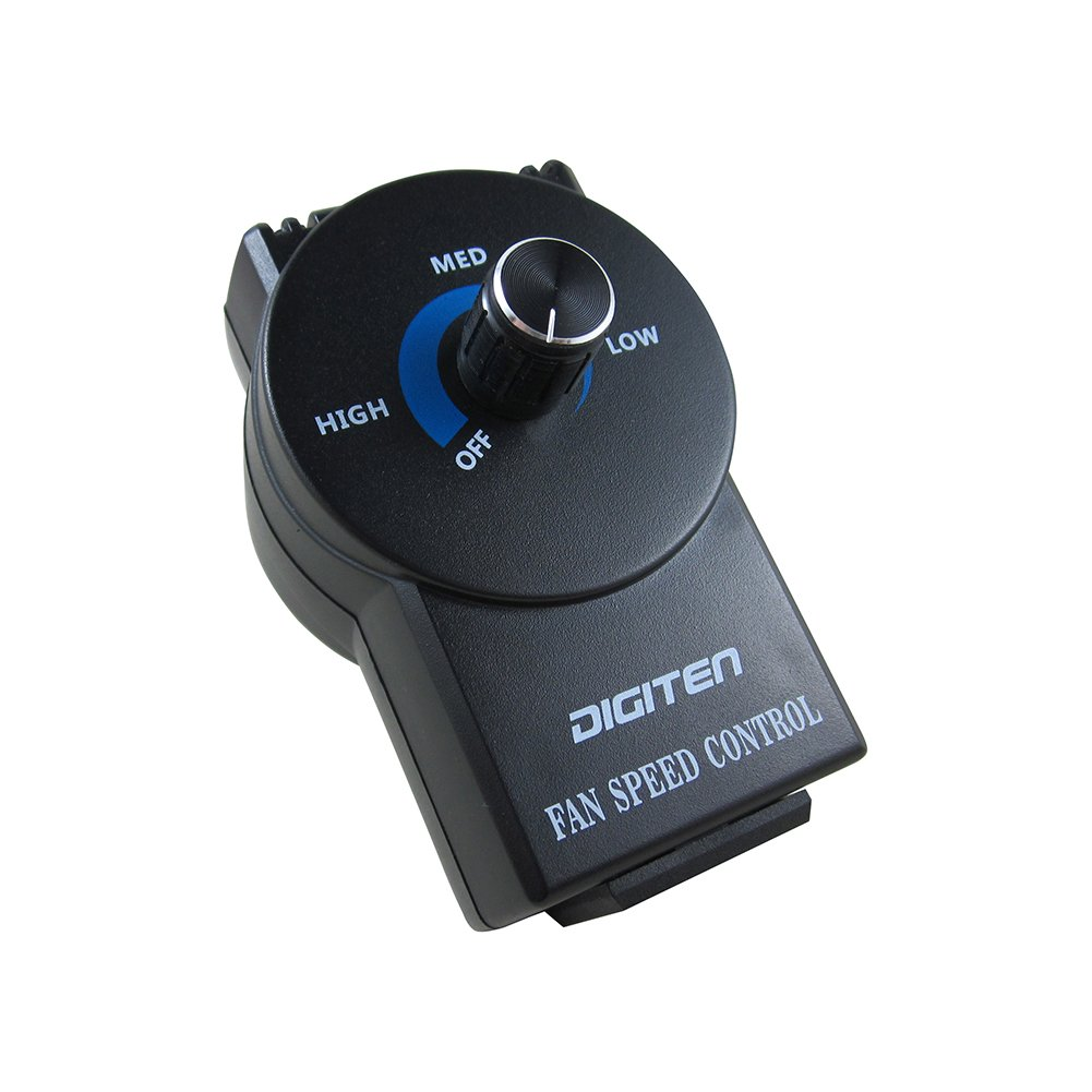 DIGITEN Variable Speed Air Duct Booster Fan Speed Controller Hydroponics Inline Exhaust